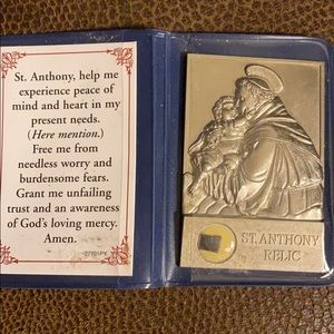 Other - St. Anthony Relic Ellicott City MD religious relic